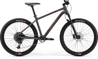 "Велосипед '19 Merida Big.Seven 600 Колесо:27.5"" Рама:L(19"") MattDarkSilver/Black/Red (6110790499)"